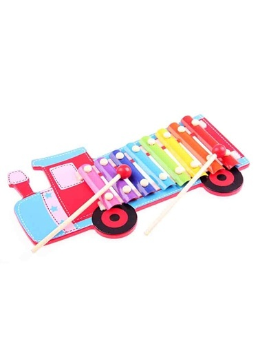 Wooden Train Piano-Wooden Toys